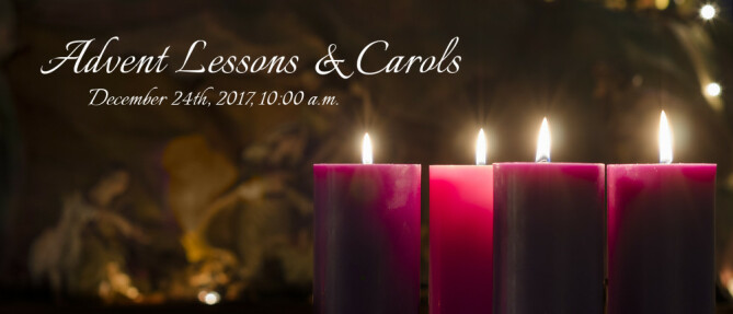 Advent Lessons & Carols 2017